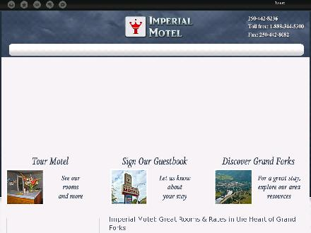 Imperial Motel (250-442-8236) - Website thumbnail - http://imperialmotel.org/