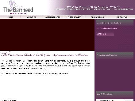 Barrhead Inn &amp; Suites The (780-305-0058) - Onglet de site Web - http://www.thebarrhead.com