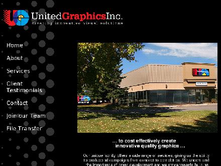 United Graphics Inc (403-248-9292) - Onglet de site Web - http://www.united-graphics.ca