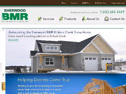 Sherwood BMR (902-368-3648) - Website thumbnail - http://www.sherwoodbmr.com