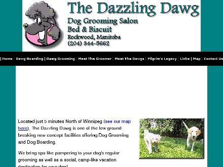 Dazzling Dawg The (204-344-5662) - Onglet de site Web - http://www.dazzlingdawg.com