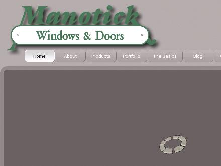 Manotick Windows & Doors (613-692-0623) - Onglet de site Web - http://www.manotickwindows.com
