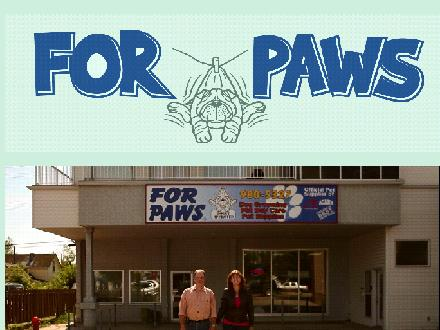 For Paws Ltd (780-980-5327) - Website thumbnail - http://www.forpawsltd.com