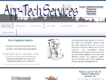 App Tech Services (250-734-0907) - Website thumbnail - http://www.nanaimoappliance.com