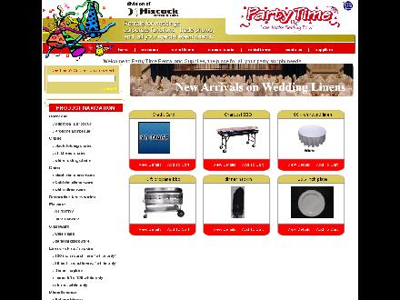 Party Time (709-722-6212) - Onglet de site Web - http://www.partytimeonline.ca