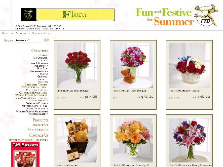Flora All Occasions Flowers and Gifts (289-801-3062) - Website thumbnail - http://www.floraalloccasions.com