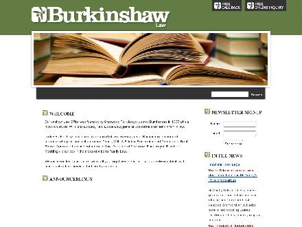 Burkinshaw Law Office (780-449-3391) - Website thumbnail - http://www.burkinshaw.ca