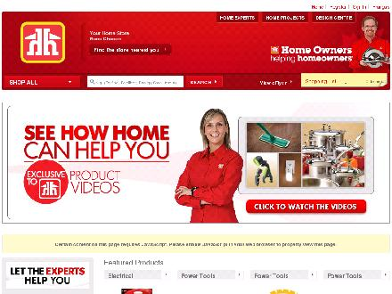 Alexandria Builder's Supplies (613-525-3151) - Onglet de site Web - http://www.homehardware.ca/