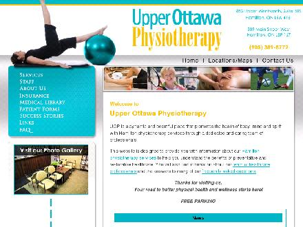 Upper Ottawa Physiotherapy (905-389-8772) - Website thumbnail - http://www.yourphysio.ca
