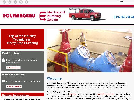 Tourangeau Mechanical Plumbing (613-747-0174) - Website thumbnail - http://tourangeaumechanical.ca/