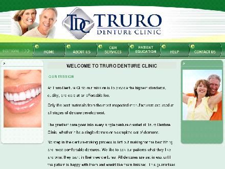 Truro Denture Clinic (902-893-8010) - Website thumbnail - http://www.trurodenture.ca