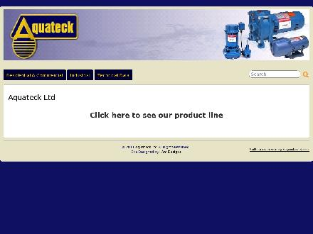 Aquateck West Ltd (780-435-5919) - Website thumbnail - http://www.aquateck.com