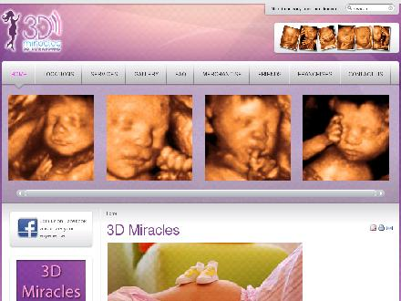 3D Miracles Halifax - 3D Ultrasound (902-492-2229) - Website thumbnail - http://www.3dmiracles.com