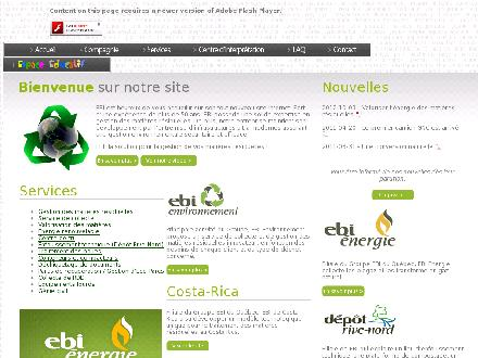 Gestion Environnementale Econord Inc (514-645-5200) - Onglet de site Web - http://www.groupe-ebi.com