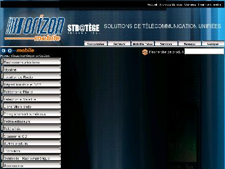 Orizon Mobile (418-527-6660) - Website thumbnail - http://www.orizonmobile.com