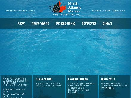 North Atlantic Marine Supplies & Services Inc (709-738-6401) - Website thumbnail - http://www.namss.ca