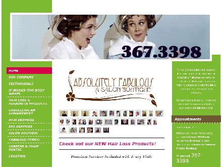 Absolutely Fabulous (902-367-3398) - Website thumbnail - http://www.abfabpei.com