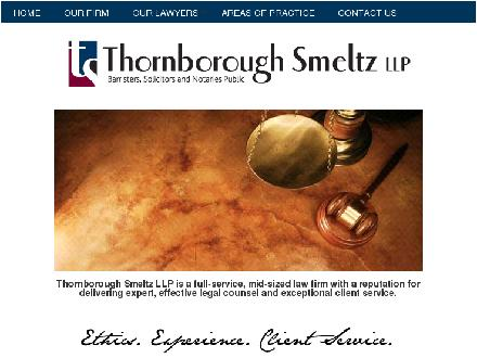 Thornborough Smeltz LLP (403-271-3221) - Onglet de site Web - http://www.thornsmeltz.com