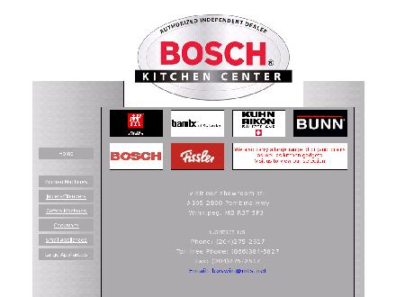 Bosch Kitchen Appliance Centre (204-275-2617) - Onglet de site Web - http://www.blackskitchenmagic.com
