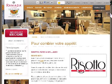 Restaurant Risotto P&acirc;tes et Grillades (819-777-3727) - Website thumbnail - http://www.risottopatesetgrillades.com
