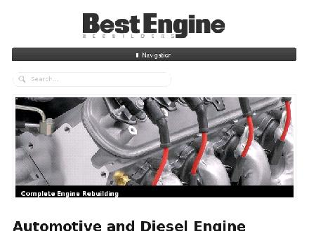 Best Engine Rebuilders (780-613-0141) - Onglet de site Web - http://www.bestengines.ca