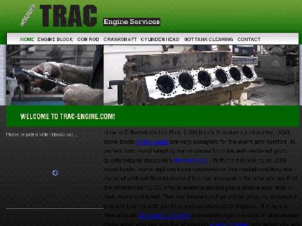 Trac Engine Services Ltd (780-401-1931) - Website thumbnail - http://www.trac-engine.com