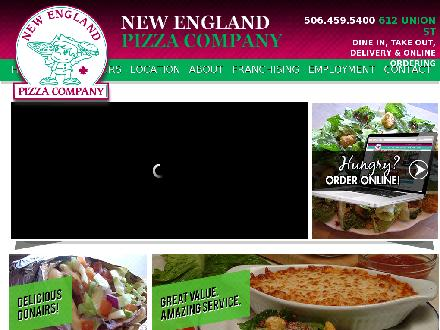 New England Pizza Company (506-459-5400) - Website thumbnail - http://www.newenglandpizza.ca