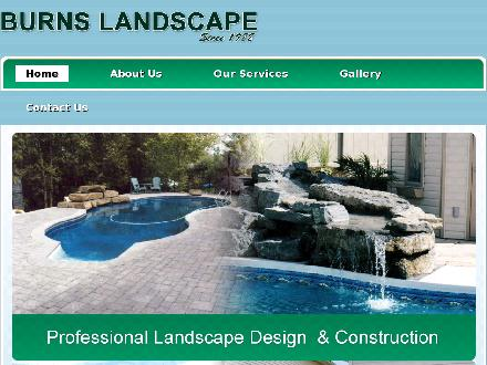 Burns Landscape (613-443-9977) - Onglet de site Web - http://burnslandscapemaintenance.com/