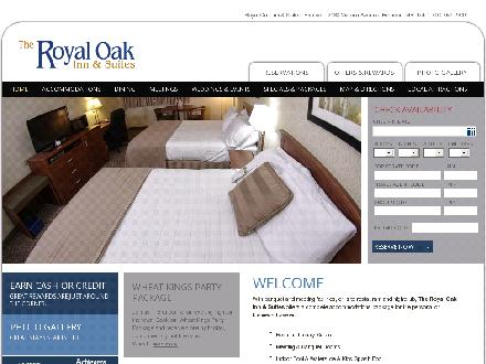 Royal Oak Inn &amp; Suites (204-728-5775) - Website thumbnail - http://www.royaloakinn.com