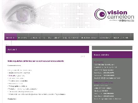 Vision Cam&eacute;l&eacute;on (450-676-5454) - Onglet de site Web - http://www.visioncameleon.com