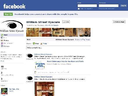 William Street Eyecare (519-759-2250) - Website thumbnail - http://www.williamstreeteyecare.ca