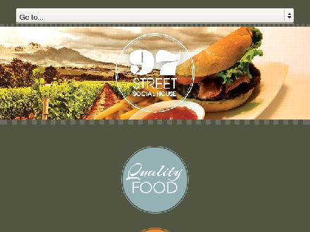97 Street Pub (250-979-6921) - Website thumbnail - http://www.97streetpub.com