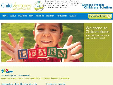 Childventures Early Learning Academy (289-809-0934) - Website thumbnail - http://www.childventures.ca