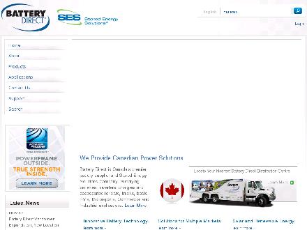 Battery Direct Medicine Hat (403-527-5300) - Onglet de site Web - http://www.batterydirect.com