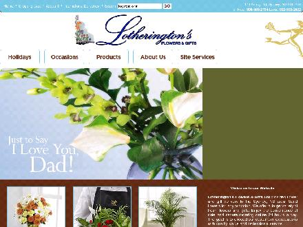 Lotherington's Flowers & Gifts Ltd (902-539-2432) - Website thumbnail - http://www.capebretonflorist.com
