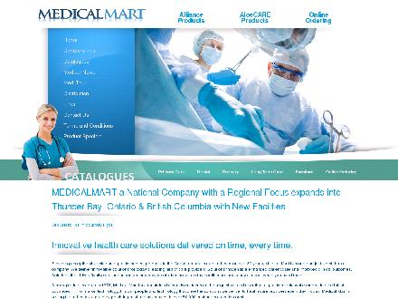 Medical Mart Supplies (1-866-444-5848) - Onglet de site Web - http://www.medimart.com