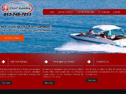 Paul Landry Insurance Brokers Ltd (613-745-7011) - Onglet de site Web - http://www.paullandry.com