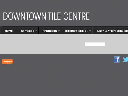 Downtown Tile Centre (416-532-2813) - Website thumbnail - http://www.downtowntile.com