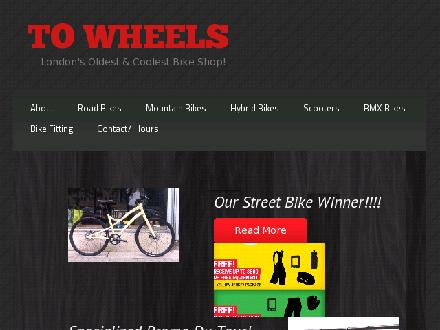 To Wheels (519-663-9447) - Website thumbnail - http://www.towheels.com