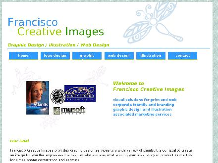 Francisco Creative Images (705-927-8138) - Website thumbnail - http://www.creativeimages.ca