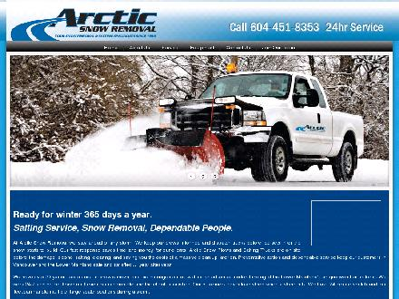 Arctic Snow Removal &amp; Salting Service Ltd (604-451-8333) - Website thumbnail - http://www.arcticsnow.ca