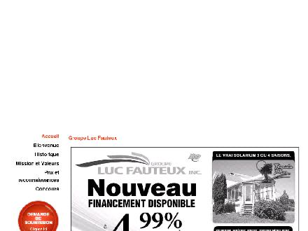 Groupe Luc Fauteux Inc - R&eacute;novation (819-416-0795) - Onglet de site Web - http://www.groupelucfauteux.qc.ca