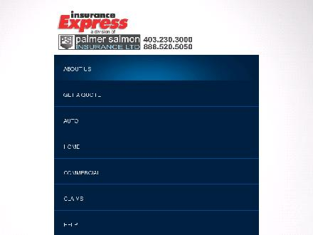 Insurance Express (403-766-9356) - Onglet de site Web - http://www.insuranceexpress.ca
