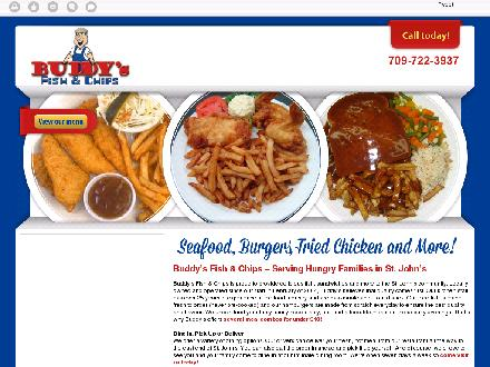 Buddy's Fish & Chips Ltd (709-722-3937) - Website thumbnail - http://buddysfishandchips.ca/