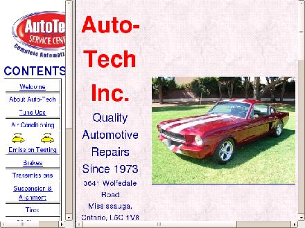 A Auto-Tech Service Centre (289-814-0219) - Website thumbnail - http://www.auto-tech.ca