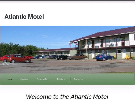 Atlantic Motel (506-387-7448) - Website thumbnail - http://www.atlanticmotel.ca