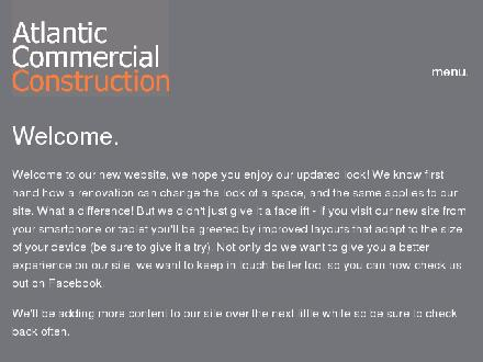 Atlantic Commercial Construction Ltd (902-444-3880) - Onglet de site Web - http://www.atlanticcommercial.ca
