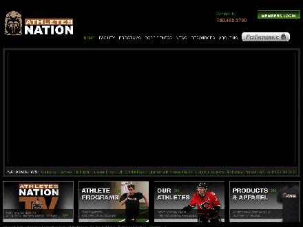 Athlete's Nation (780-458-3700) - Website thumbnail - http://www.athletes-nation.com