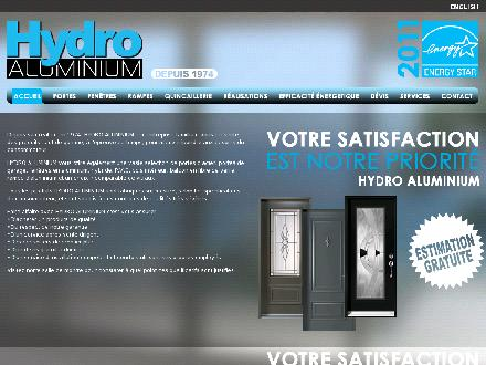 Hydro Aluminium (514-274-3537) - Onglet de site Web - http://www.hydroalum.com