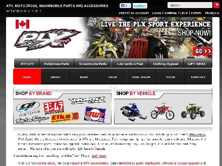 PLX Sport Inc (514-239-1221) - Onglet de site Web - http://www.plxsport.com